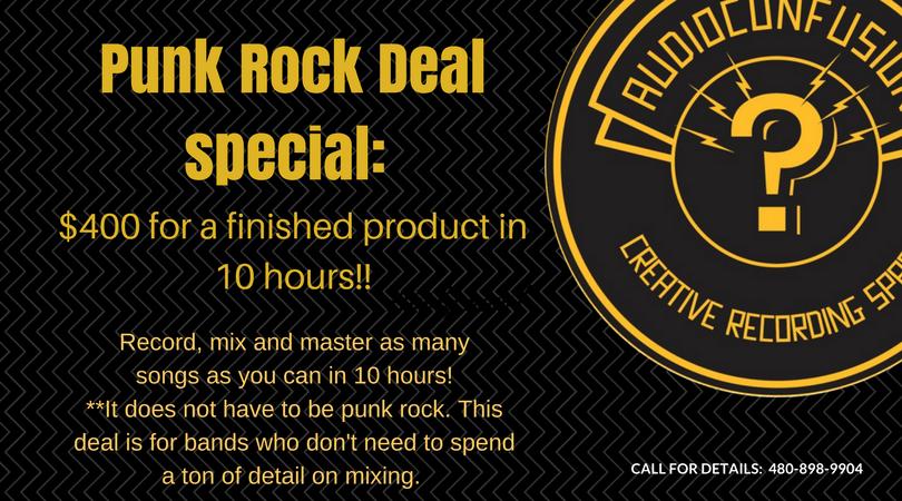 Punk Rock Deal Recording Special