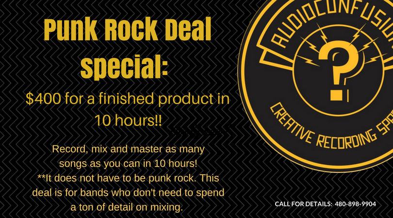 Punk Rock Deal Recording Special